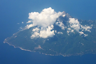 Mount Athos - aerial view