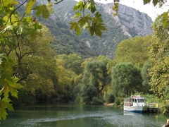 Tembi Valley with boat
