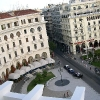 looking down at aristotelous square thessaloniki