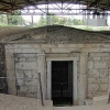 vergina entrance to tomb